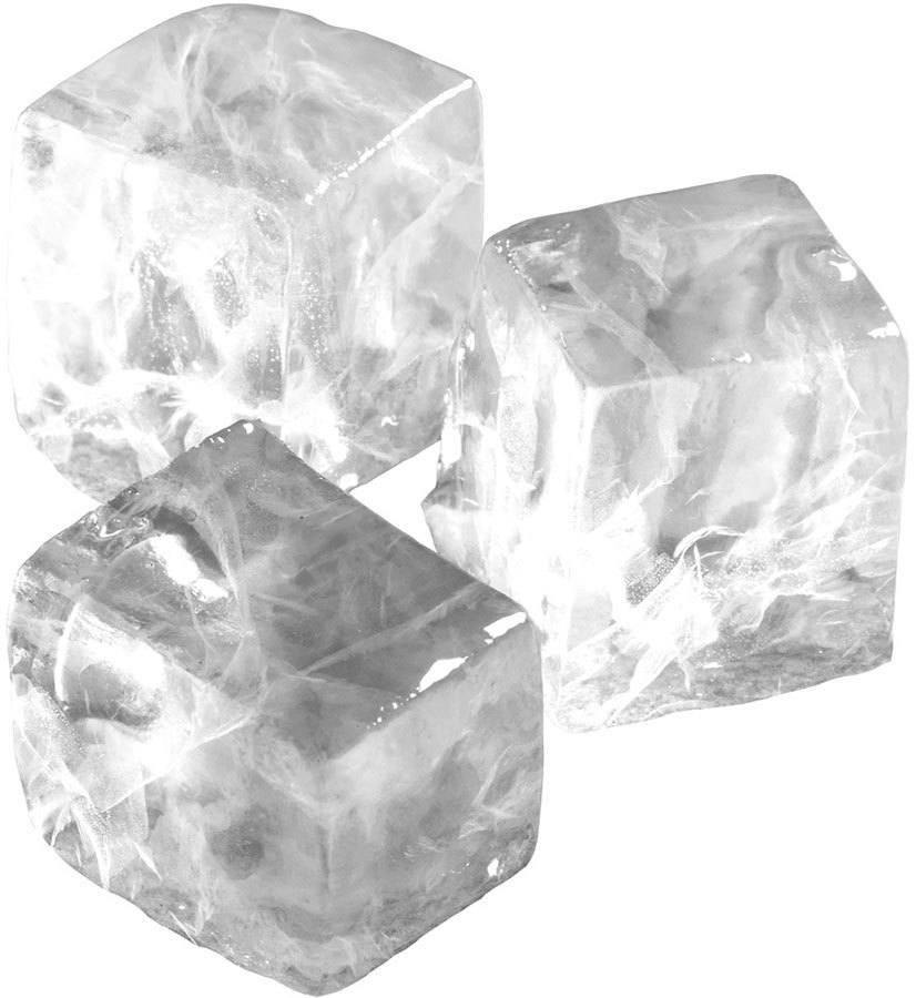 Cubes ice