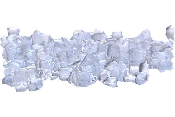 Micro cubes ice